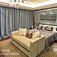 精选131平米欧式别墅卧室装修设计效果图片欣赏