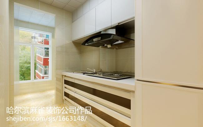 精选现代二居厨房装修欣赏图片
