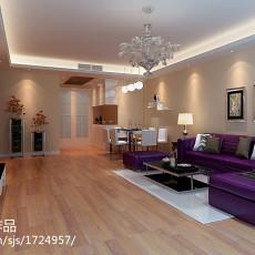 91平米三居客厅现代欣赏图片大全