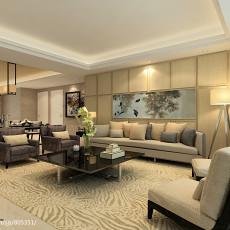 精选面积97平现代三居客厅装修设计效果图片