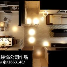 精选89平米二居客厅现代装修实景图片