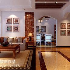 热门85平米二居客厅美式实景图片大全