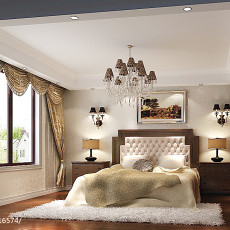 精美106平米三居卧室欧式效果图片欣赏