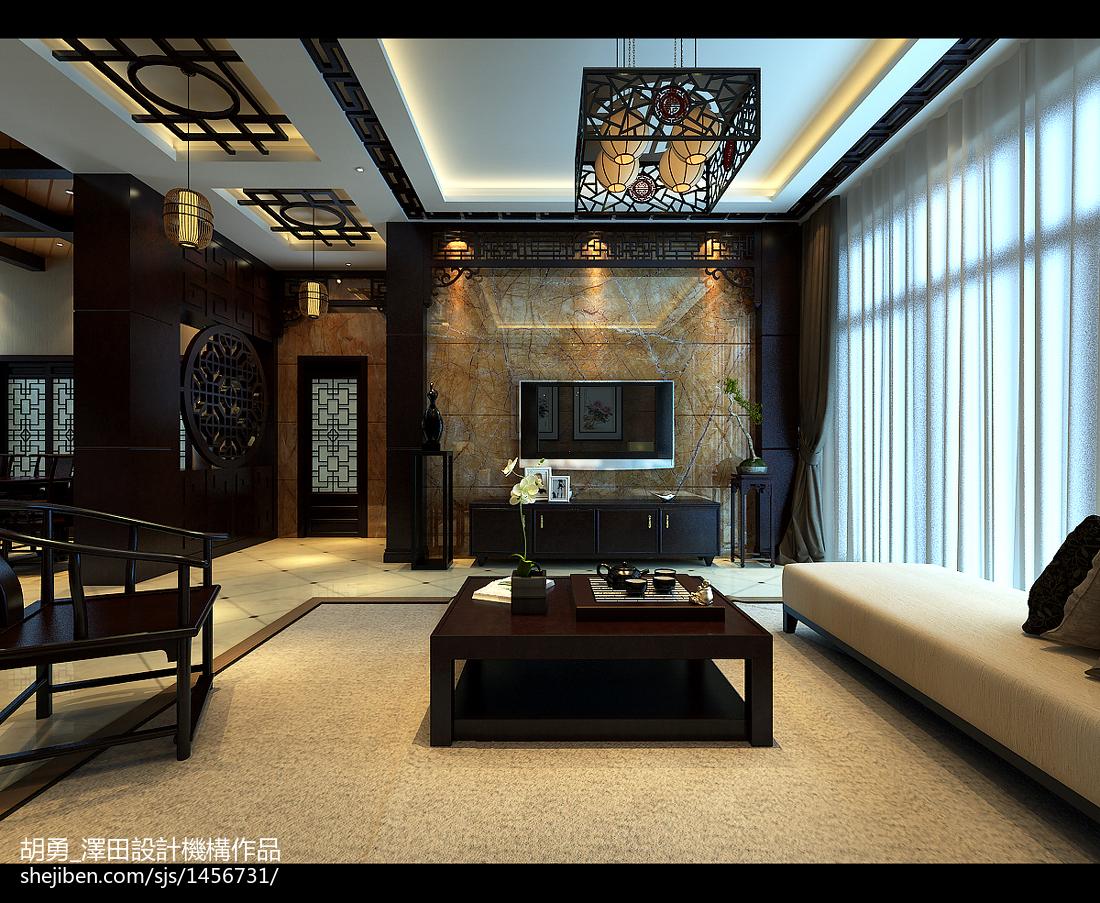 新中式装修风格图