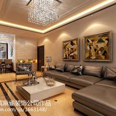 精选81平米二居客厅现代装修欣赏图