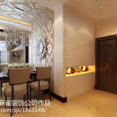 精选79平方二居餐厅现代装修欣赏图片