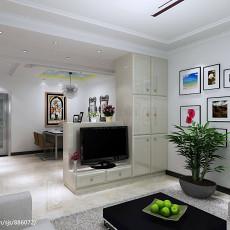 精选大小78平现代二居客厅装修效果图片