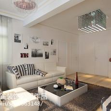 精美面积78平现代二居客厅装修图片