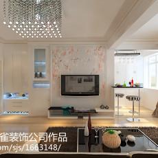 201885平方二居客厅现代装修图片欣赏