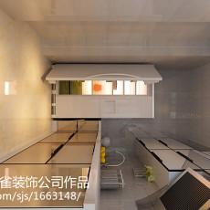 76平米二居厨房现代实景图