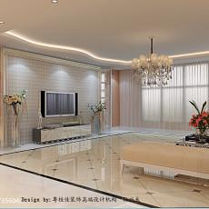 2018精选127平米四居客厅现代设计效果图