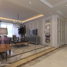 精选108平米三居客厅现代装修效果图片