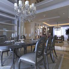 精选100平米三居餐厅现代装修实景图片大全