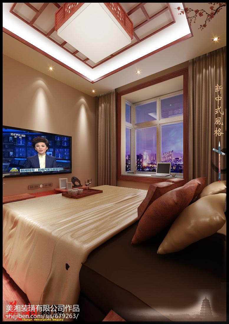 现代简洁清新卧室装修案例