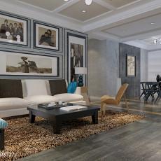 精美大小111平现代四居客厅装修实景图片