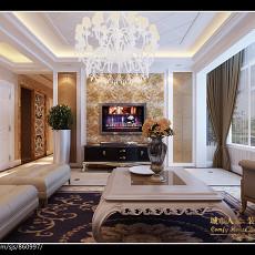 201895平米三居客厅欧式装修欣赏图