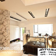 精美100平米三居客厅美式装修欣赏图片