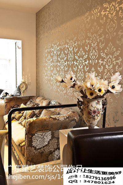 最新大小91平美式三居客厅装修设计效果图片大全