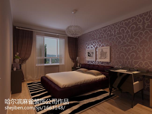 2018精选面积86平小户型卧室现代装修设计效果图片大全
