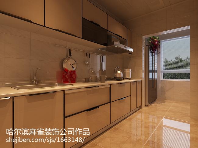 201883平米现代小户型厨房实景图片大全