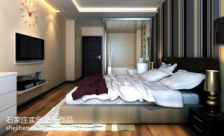 四室两厅装修效果图卧室装修效果图