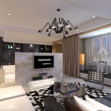 122平米现代别墅客厅装修图