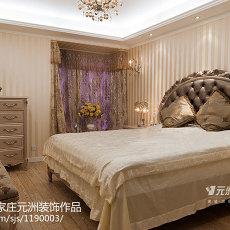 热门欧式三居卧室装修图片