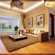 2018面积81平现代二居客厅装修设计效果图片