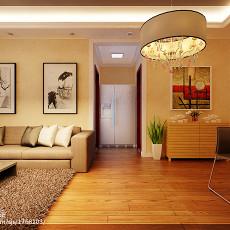 2018面积82平现代二居客厅装修图片欣赏