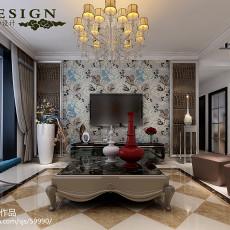 精选面积100平现代三居客厅欣赏图片