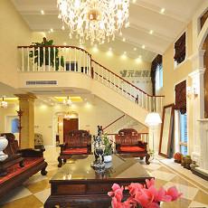 热门97平方三居客厅欧式装修效果图片