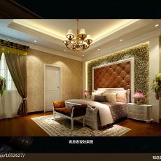 热门130平米欧式别墅卧室设计效果图