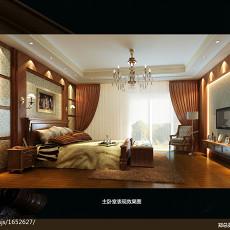 热门面积127平别墅卧室欧式装修设计效果图片欣赏