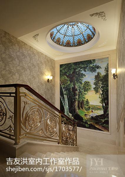 美式风格楼梯装修效果图欣赏