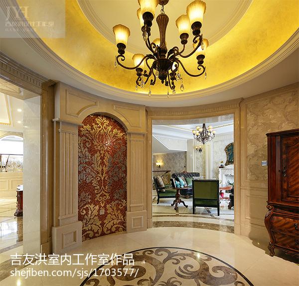 美式别墅玄关装饰图片大全