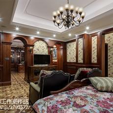 美式别墅卧室装修设计效果图片欣赏