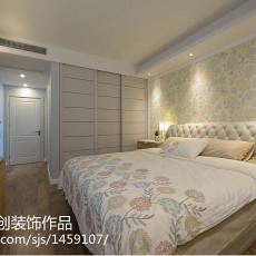 热门95平米三居卧室欧式效果图