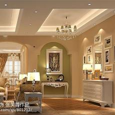 热门面积99平欧式三居客厅装修图片