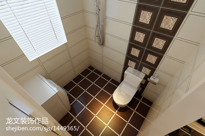 热门84平米二居卫生间现代欣赏图片