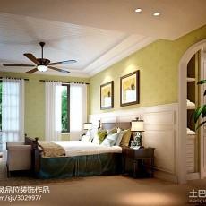 109平米三居卧室欧式实景图