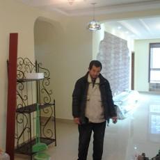 2018122平方四居客厅美式装修设计效果图片大全