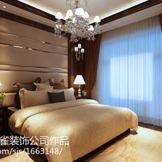 精美96平米三居卧室美式欣赏图片