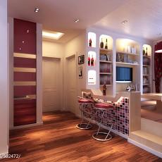 2018精选面积109平现代三居客厅装修效果图片