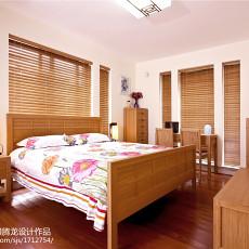 精美120平米现代别墅卧室装修设计效果图片大全