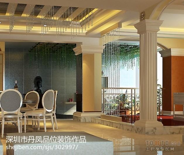 美式风格别墅精装修设计卧室效果图