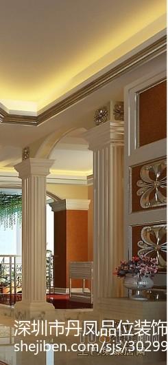 美式风格别墅精装修设计卫生间效果图