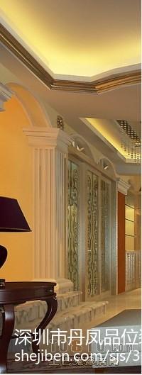 美式风格别墅精装修室内楼梯图片