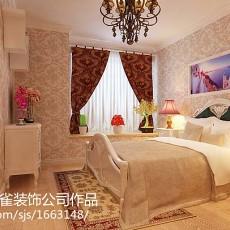107平米三居卧室欧式装修效果图