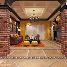 104平方三居客厅美式装修图片大全
