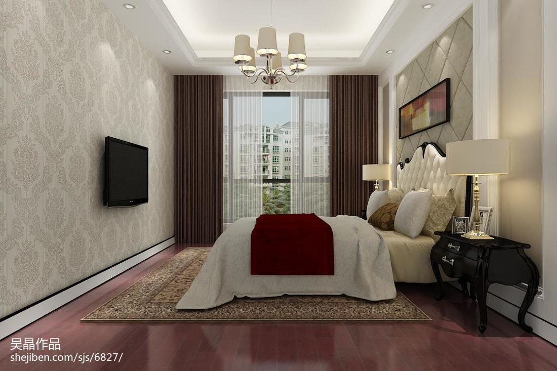 25平米卧室装修效果图